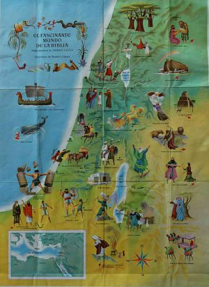 Vintage Israeli Maps