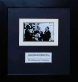 igned photo by Menachem Begin and Jimmy Carter