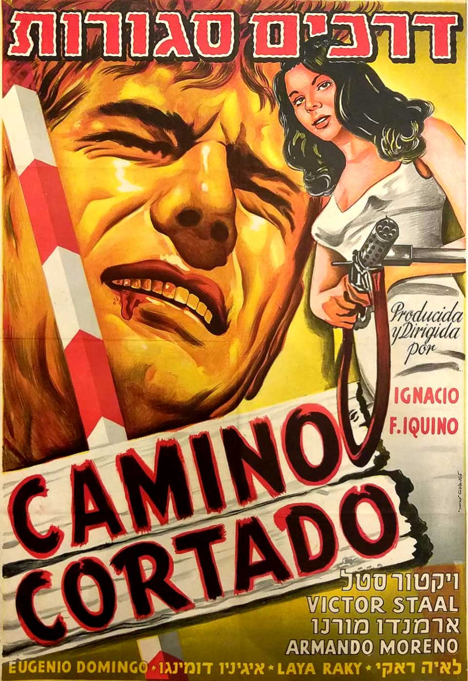 Httpwww Overlordsofchaos Comhtmlorigin Of The Word Jew Html: Spanish Vintage Movie Poster In