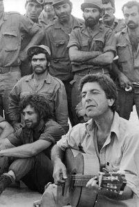 Yom Kippur War Leonard Cohen